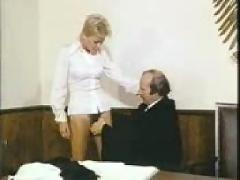 Classic german porn- 5 - sex in court..