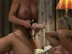Mature woman seduces younger girl ...f70