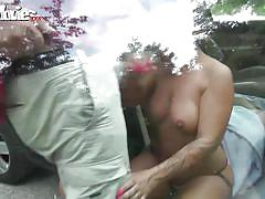 threesome, facial, big tits, german, outdoor, bikini, amateur, masturbation, blowjob, hardcore, brunette, fun movies, candy cox
