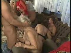 Another granny orgy