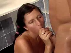German bathroom fuck