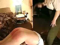 Russian spanking clip