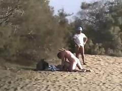 beach, public nudity