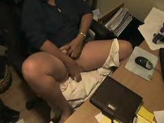 My mummy masturbating at computer. amateur hidden cam