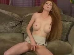 Redhead hairy amateur solo red haired pussy carpet matches the dabuses
