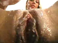 Nasty girl masturbating