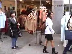 Mery walks nude through kaiserslautern germany