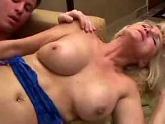 57yo blonde mom fucked good