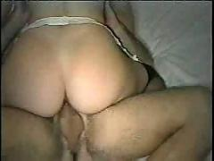 Masked slut gets fucked hard on motel