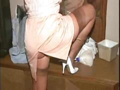 blowjobs, hd videos, stockings, hotel, hotel maid, surprise