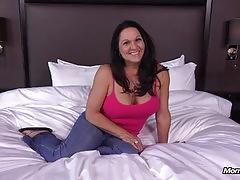 Kinky anal fucking big boobs gilf gets pussy creampie