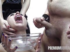 Linda swallows 57 huge mouthful cumshots