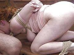 bdsm, big ass, big tits, babe, redhead, deepthroat, domination, from behind, rope bondage, sex and submission, kink, penny pax, charles dera