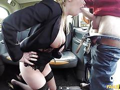 milf, blonde, big tits, big cock, deepthroat, taxi, masturbating, backseat, car sex, pov, fake taxi, fake hub, holly kiss, john xxxx