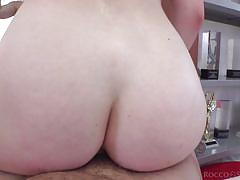 blonde, anal, big tits, babe, casting, deepthroat, huge cock, from behind, reverse cowgirl, pov, rocco siffredi, fame digital, rocco siffredi, mery monroe