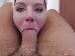Busty beauty tries rocco's huge dick @ rocco's intimate castings #20