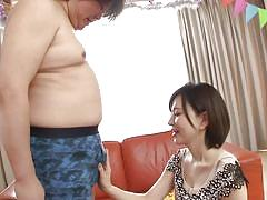 Yuria sucks cock like a nice girl!
