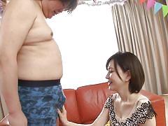 Yuria sucks cock like a nice girl!