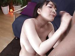 Busty asian milf in a hot mmf threesome
