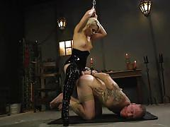 milf, facesitting, blonde, anal, femdom, bdsm, strapon, latex, pussy licking, rope bondage, divine bitches, kink, d. arclyte, helena locke
