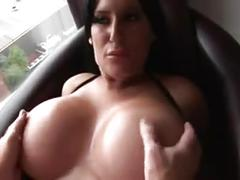 Milf with big fake tits.