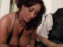 Super hot big titty milf gets fucked hard!
