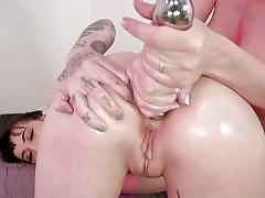 milf, bdsm, lesbians, big tits, babe, anal fisting, anal dildo, tattooed, rope bondage, everything butt, kink, charlotte sartre, dee williams