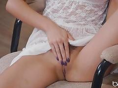 Sexy mellissa moore gets nat turner to treat her bush