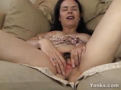cum, milf, brunette, amateur, masturbation, solo, cumming, softcore, orgasm, fingers, pierced, climax, contractions, orgasmo, orgasmus, hairy-bush, orgame