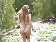 bdsm, big tits, babe, redhead, outdoor, domination, blowjob, rope bondage, electric vibrator, sex and submission, kink, ramon nomar, skylar snow