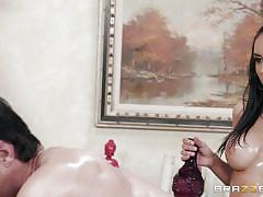 Tia is always up for a cock massage
