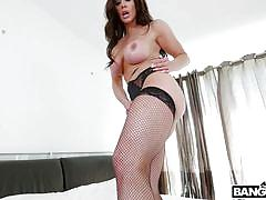 milf, big tits, pervert, big butt, spying, robber, brunette, foot fetish, masked, role play, ass parade, bangbros, kendra lust, ryan mclane