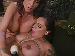 milf, threesome, bdsm, big ass, lesbians, big tits, anal fisting, military, vibrator, tattooed, rope bondage, everything butt, kink, syren de mer, tori avano, dee williams