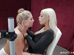milf, blonde, big ass, lesbians, big tits, babe, latina, flexible, pussy eating, tits sucking, hot and mean, brazzers, bridgette b, val dodds