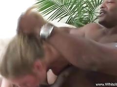 White wife taking black cock
