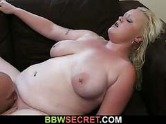 She leaves and he cheats with bbw