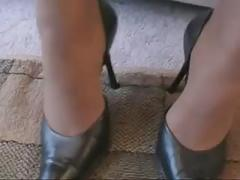 Ebony nylon feet