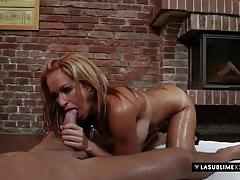 Stacy silver has anal threesome
