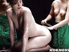 Dolly leigh gets doubled up on
