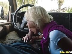 Busty blonde olivia blu taking it hard