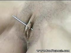 Body piercing collection of pierced pussies and nipples 11