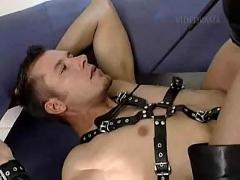 Blonde mistress and her slave, good fucking - german - csm