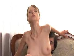 Very very hot brunette get fucked - csm