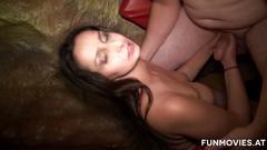 brunette, group, milf, blowjob, gangbang, sex