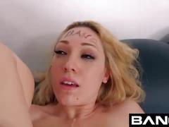 Bang casting: lily labeau blonde babe raw casting couch dp