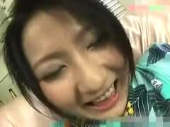 Japanese babe kimono  and  pussy