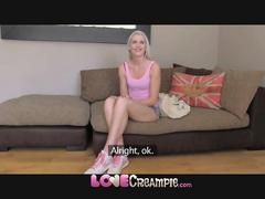 Love creampie tall slim amateur blonde is a natural...