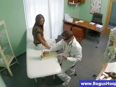 Real patient seduced by horny doctor