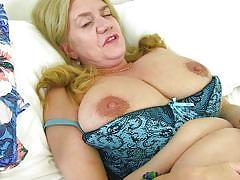 blonde, big ass, mature, solo, stockings, big boobs, masturbating, fingering, bbw, mature nl, lily may
