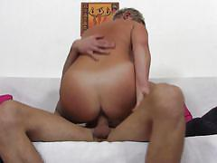 blonde, mature, from behind, deep fuck, sexy boobs, cock ride, large vagina, on couch, daisy x, mature nl, mature money